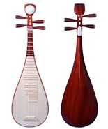 Scented Rosewood Pipa 花梨清水琵琶 - Chinese Lute BIWA for Performers - $369.00