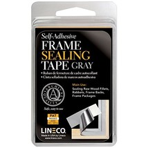 Lineco Frame Sealing Tape Gray 1.25 Inches X 24 Feet - $13.55