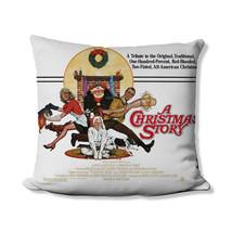 Christmas Movie Pillow - Retro Christmas Decor - 1980's Christmas Movie Throw Pi - $19.99