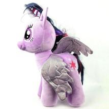 "Build a Bear My Little Pony Twilight Sparkle 16"" Plush Purple Unicorn ML... - $30.22"