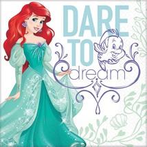Ariel Dream Big Disney Little Mermaid Kids Birthday Party Paper Luncheon Napkins - $7.17