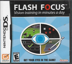 Flash Focus: Vision Training in Minutes a Day (Nintendo DS, 2007) - $5.99