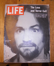 Charles Manson Life Magazine December 19 1969 Helter Skelter Sharon Tate... - $92.31