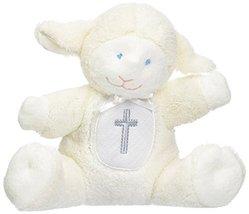 Mary Meyer Baby Rattle Soft Toy, Christening Lamb - $10.99