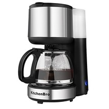 Coffee Maker 4 Cup Stainless Steel with Warming Plate - $33.21