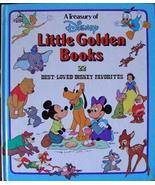 A Treasury of Disney Little Golden Books: 22 Best Loved Disney Favorites... - $78.64