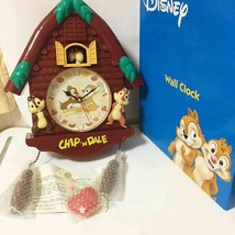 Disney Chip'n Dale Wall clock small rog house clock Pendulum clock  - $94.05