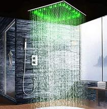 """Cascada Luxury 20"""" Square Ceiling Mounted Thermostatic Shower System- 2 ... - $1,118.65"""
