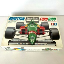 Tamiya 1/20 Benetton Ford B188 #19 Nannini #20 BoutsenCar Model Kit From... - $40.60