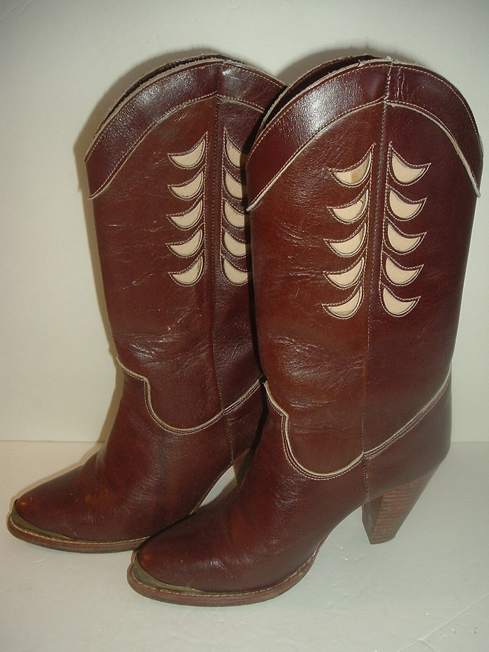 e87c248d899 Vintage Zodiac Leather Boots Sz 6M in and 50 similar items