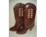 Vintage Zodiac Leather Boots Sz 6M  in original box