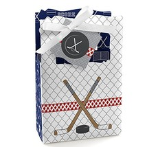 Shoots & Scores! - Hockey - Baby Shower or Birthday Party Favor Boxes - ... - $23.38