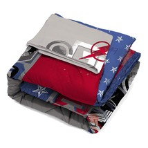 Warner Bros. Justice League Call Comforter with Sham, Twin/Full, 2 Piece - $46.62