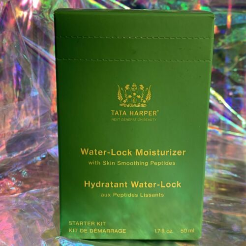 NEW IN SEALED BOX Tata Harper Water Lock Moosturizer 50mL(1.7 fl. oz W Peptides)