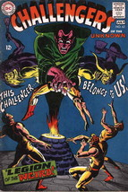 Challengers of the Unknown #62 VG; DC | low grade comic - save on shippi... - $5.50