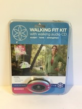 Gaiam Walking Fit Kit for Beginners Audio CD + Pedometer - $6.90