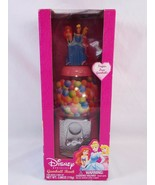 Disney Princess Plastic Gumball Bank Machine Pink Walgreens NEW DAMAGE BOX - $39.59
