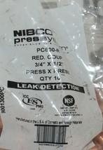 Nibco Press System P x P Press Reducing Coupling 9001300PC 10 Per Bag image 2