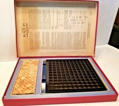 Scrabble RSVP 3 Dimensional Crossword Game (1966) Selchow & Righter - $24.74