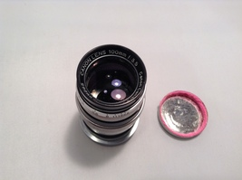 Asahi 2X Tele-Converter Lens and Cannon 100mm Lens