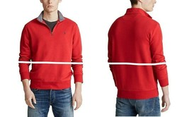 Polo Ralph Lauren Performance Jersey Half Zip Pullover Red Size XL - $69.29