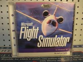Microsoft Flight Simulator for Windows 95 PC CDROM 2000 Smart Saver Game - $11.48