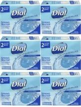 12 Bars Dial Antibacterial Soap Spring Water 3.2 oz Each, Free S & H - $19.79