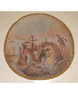Blue Beige Seaside Tapestry Print for Seat - $49.95