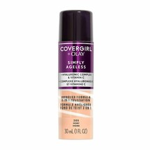 CoverGirl + Olay Simply Ageless Liquid Foundation No Cap ~ Choose From 2... - $10.29