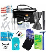 Premium Dancer Travel Kit Rainbow – Travel Emergency Kit for Ballroom Ba... - $41.81