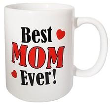CityDreamShop's Best Mom Ever Novelty Fun Designed Coffee Mug- Best Moth... - $12.81