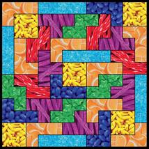 Tetris Game Candy Theme 750 Piece Puzzle Multi-Color - $26.98