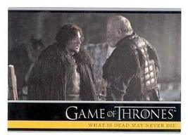 Game of Thrones trading card #07 2013 What is Dead May Never Die - $3.00