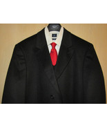 F.R. Tripler Mens Cashmere Blend 3/4 Length Business Coat Large 44 NWOT  - $196.00