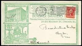 1908 All Over Benziger Bros Publishing Advertising Cover - Stuart Katz - $80.00