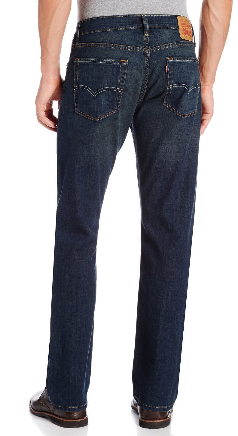 NEW LEVI'S STRAUSS 514 MEN'S ORIGINAL SLIM FIT STRAIGHT LEG JEANS PANTS 514-0542