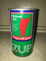 7 UP UNCLE SAM CAN 1976, VERMONT - COMPLETE YOUR COLLECTION!! - $7.99
