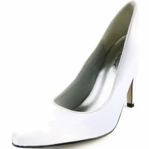 ELLIE Shoes Sexy Classic Womens Pumps Patent High Heel 8220 WHITE - $32.95