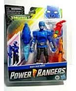 "Power Rangers Beast Morphers Beast-X Blue Ranger 6"" Action Figure Toy In... - $23.75"