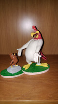 Extremely Rare! Looney Tunes Charlie Le Coq Foghorn with Henry Fig Statue Set - $148.50