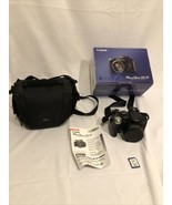 Canon PowerShot S5 8.0 MP Digital Camera - Black 32GB SD Card - $64.35