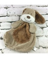 Baby Gear Brown Puppy Dog Plush Lovey Soft Animal Comfort Cuddle Crib Toy - $14.84