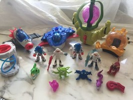 Fisher Price Imaginext Alien Ion Space Ships lot figurines - $89.09