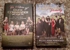 Lot of 2 Duck Dynasty Books The Duck Commander Family & The Women Of...EUC - $12.86