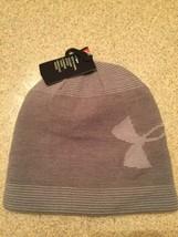 Under Armour Men's Winter Hat Beanie, Gray NEW! - $22.76
