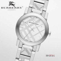 Burberry BU9233 The City Watch Silver 26mm - $298.00