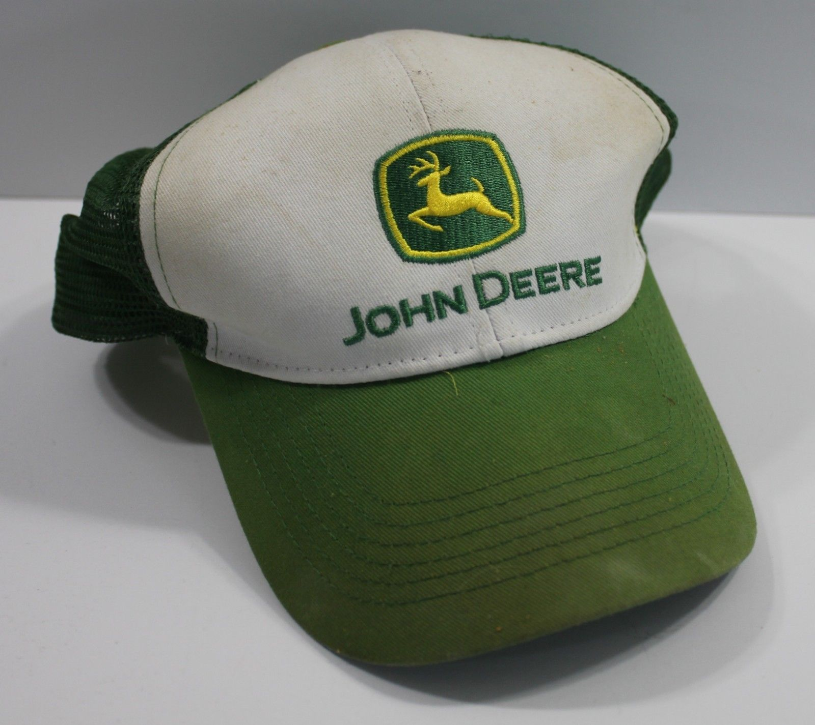 7b946599e5a93 Vintage Trucker Hat John Deere Mesh Snapback and 50 similar items. 57