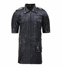 Mens Noctis Lucis Caelum Final Fantasy XV Black Faux Leather Jacket image 1