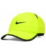 NEW! Nike Seasonal Featherlight Dri-fit Adjustable Hat/Cap-Neon Green/Black - $128.58