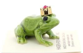 Hagen-Renaker Miniature Ceramic Frog Figurine Birthstone Prince 01 January image 2